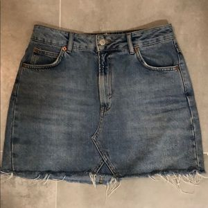 Jean skirt from TopShop